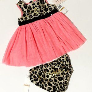 Juicy couture girls summer party dress